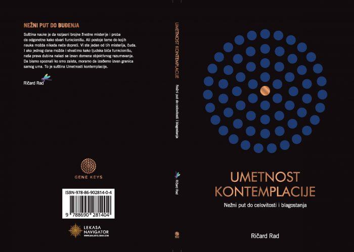"""Knjiga """"Umetnost kontemplacije"""" - Ričard Rad"""